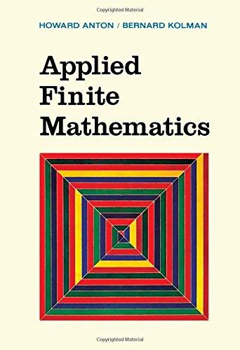 9780120595501: Applied Finite Mathematics