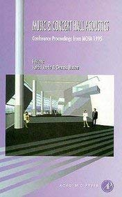 9780120595556: Music and Concert Hall Acoustics: Conference Proceedings from MCHA 1995