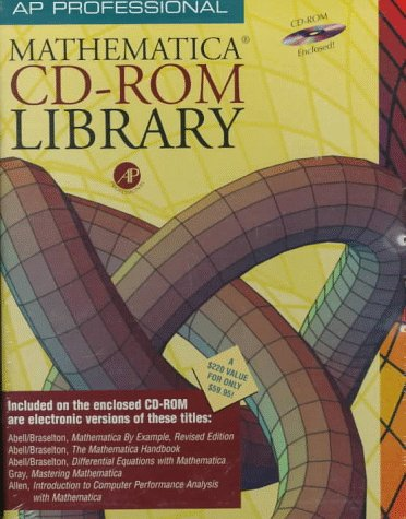 9780120597574: Academic Press Professional Mathematica CD-ROM Library: Windows/Macintosh/UNIX