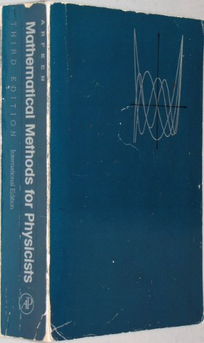 9780120598106: Mathematical Methods for Physicists