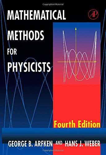 9780120598151: Mathematical Methods for Physicists, Fourth Edition