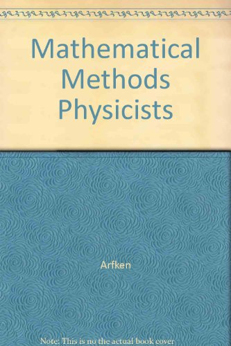 9780120598175: Answers to Miscellaneous Problems: Mathematical Methods for Physicists, 4th Edition