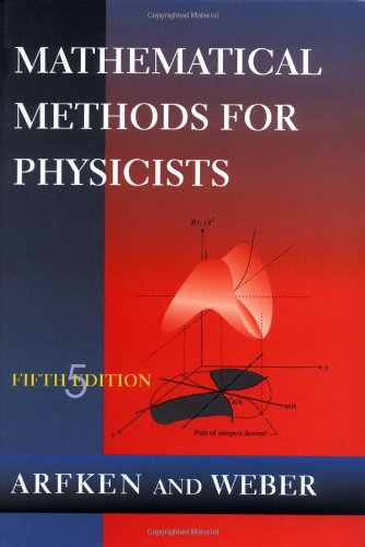 9780120598250: Mathematical Methods for Physicists, Fifth Edition
