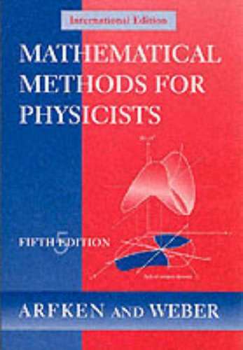 9780120598267: Mathematical Methods for Physicists