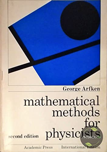 9780120598328: Mathematical Methods for Physicists