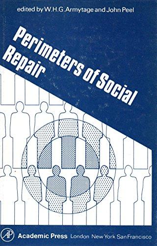 9780120627509: Perimeters of Social Repair: Proceedings of the 14th Annual Symposium, London, 1978