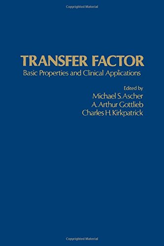 9780120646500: Transfer Factor: Basic Properties and Clinical Applications