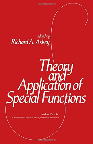 9780120648504: Theory and Practice of Special Functions (Publication of the Mathematics Research Center, the University of Wisconsin ; no. 35)