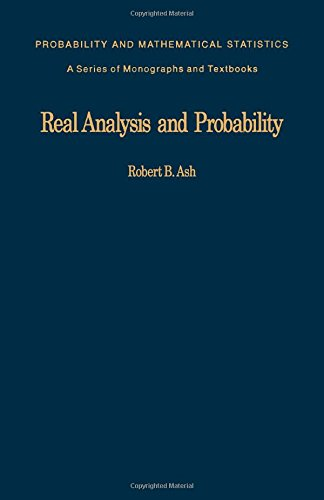 9780120652013: Real Analysis and Probability (Probability & Mathematical Statistics)