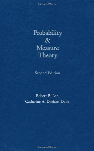 9780120652020: Probability & Measure Theory