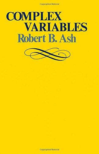 9780120652501: Complex Variables