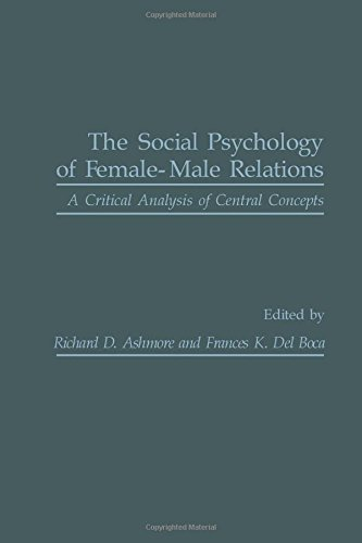 9780120652808: Social Psychology of Female-Male Relations: A Critical Analysis of Central Concepts
