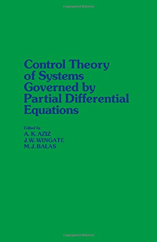 9780120686407: Control Theory of Systems Governed by Partial Differential Equations