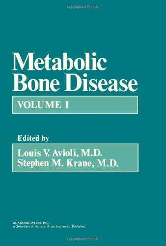 9780120687015: Metabolic Bone Disease: v. 1