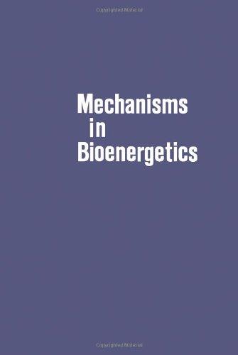 9780120689606: Mechanisms in Bioenergetics;: Proceedings