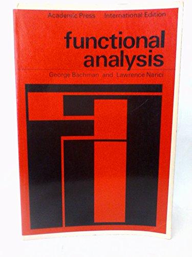 9780120702305: Functional Analysis