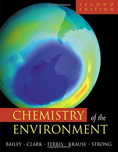 9780120734610: Chemistry of the Environment