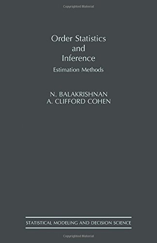 9780120769483: Order Statistics & Inference: Estimation Methods (Statistical Modeling and Decision Science)