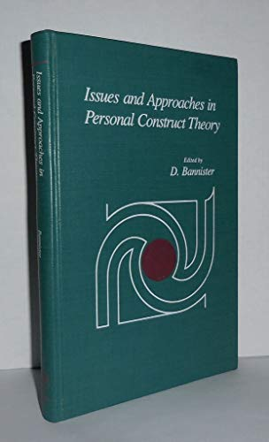 9780120779802: Issues and Approaches in Personal Construct Theory