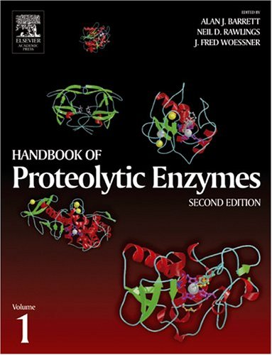9780120796113: Handbook of Proteolytic Enzymes, Two-Volume Set with CD-ROM: Handbook of Proteolytic Enzymes, Volume 1, Second Edition