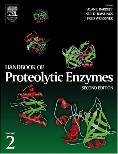 9780120796120: Handbook of Proteolytic Enzymes, Two-Volume Set with CD-ROM: Handbook of Proteolytic Enzymes, Volume 2, Second Edition