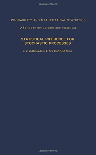 9780120802500: Statistical Inference for Stochastic Processes (Probability and Mathematical Statistics)