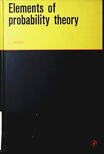 9780120807567: Elements of Probability Theory