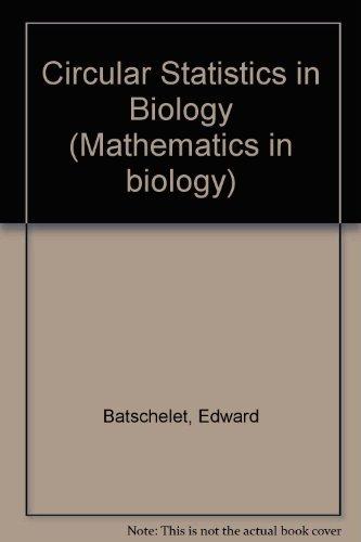 9780120810505: Circular Statistics in Biology (Mathematics in biology)