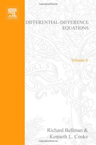 9780120848508: Differential-difference equations, Volume 6 (Mathematics in Science and Engineering)