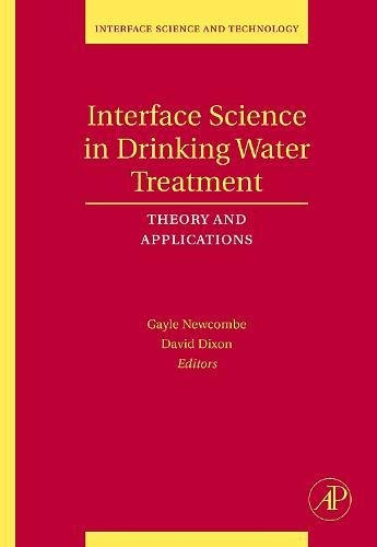 9780120883806: Interface Science in Drinking Water Treatment, Volume 10: Theory and Applications (Interface Science and Technology)