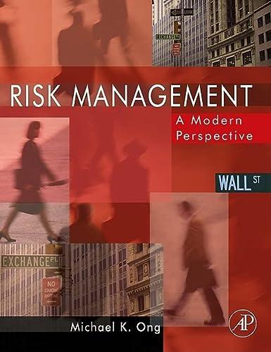 9780120884384: Risk Management, Volume 1: A Modern Perspective