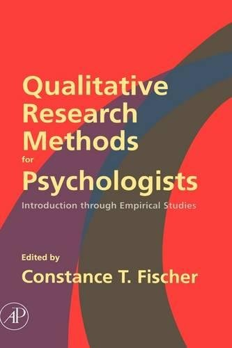 9780120884704: Qualitative Research Methods for Psychologists: Introduction through Empirical Studies