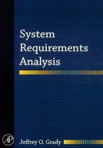 9780120885145: System Requirements Analysis