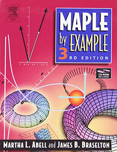 9780120885268: Maple By Example, Third Edition