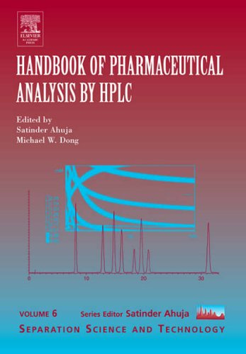 9780120885473: Handbook of Pharmaceutical Analysis by HPLC, Volume 6 (Separation Science and Technology)