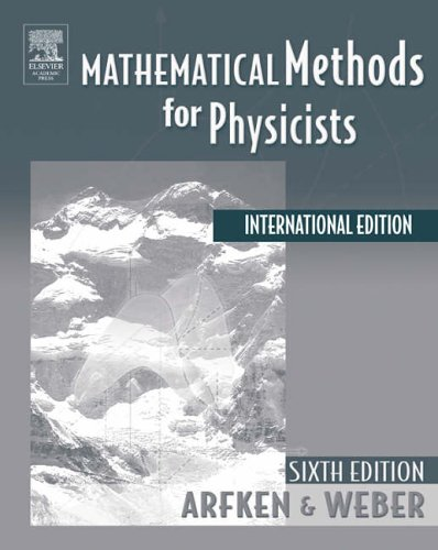 9780120885848: Mathematical Methods For Physicists International Student Edition, Sixth Edition
