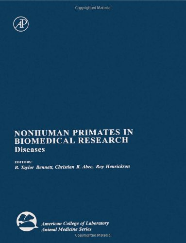 9780120886654: Nonhuman Primates in Biomedical Research: Diseases (American College of Laboratory Animal Medicine)
