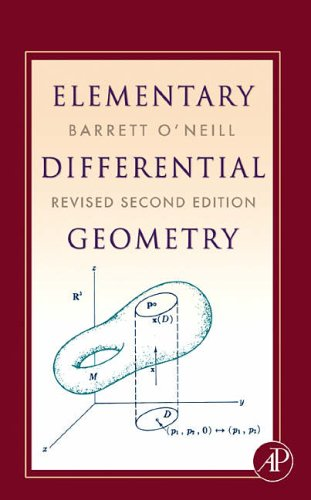 9780120887354: Elementary Differential Geometry