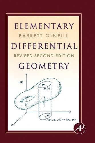 Elementary Differential Geometry, Revised 2nd Edition, Second Edition (0120887355) by O'Neill, Barrett
