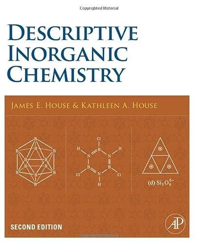 9780120887552: Descriptive Inorganic Chemistry, Second Edition