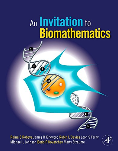 9780120887712: An Invitation to Biomathematics