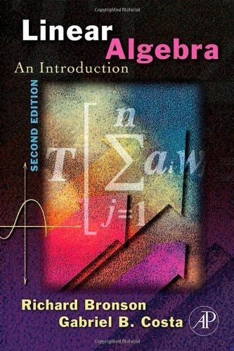 9780120887842: Linear Algebra: An Introduction