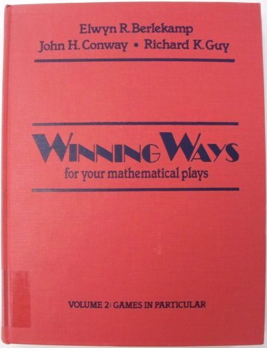 9780120911523: Winning Ways: For Your Mathematical Plays