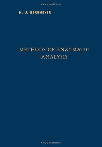 9780120913565: Methods of Enzymatic Analysis