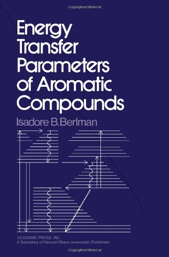 9780120926404: Energy Transfer Parameters of Aromatic Compounds