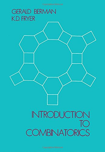9780120927500: Introduction to Combinatorics