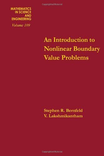 9780120931507: Introduction to Nonlinear Boundary Value Problems (Mathematics in Science & Engineering)