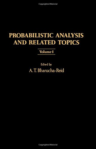 9780120956012: Probabilistic Analysis and Related Topics: v. 1