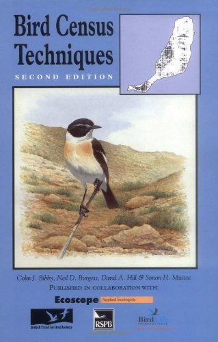 9780120958313: Bird Census Techniques, Second Edition