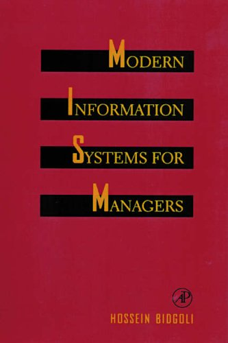 9780120959709: Modern Information Systems for Managers